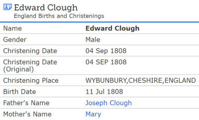 Edward Clough
