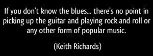 Blues Keith Richards