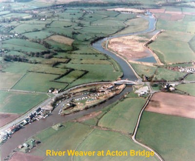 River Weaver at Acton Bridge
