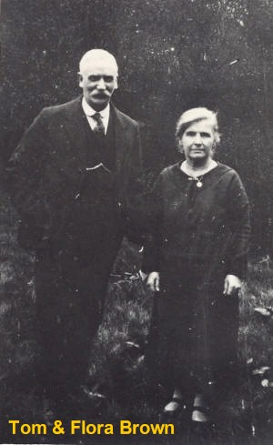 Tom and Flora Brown