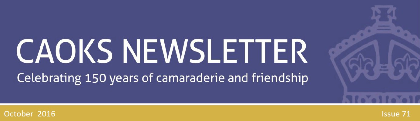 CAOKS Newsletter